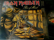 IRON MAIDEN PIECE OF MIND CLASSIC ROCK LP VINYL 1983
