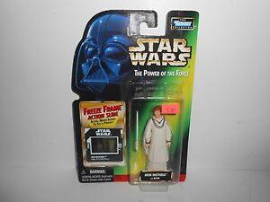 1998 Kenner Star Wars Power of the Force POTF Mon Mothma w/ Baton MOC