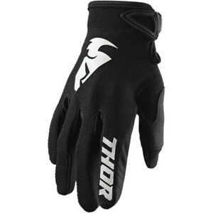 Thor Sector Motocross Gloves Black