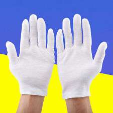 72Pairs Nylon Work Gloves Safety Coin Jewelry Inspection Breathable Light Weight