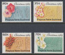 Papua-Neuguinea 1989 ** Mi.606/09 Christmas Weihnachten Vogel Bird [st1553]