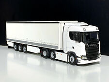 Scania S normal CS20N 6x2 curtainside trailer,WSI truck models