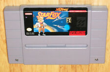 STARFOX Super Nintendo SNES game cartridge
