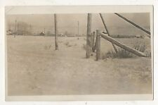 RPPC View of Town from Distance MISSOULA? MT Vintage Montana Real Photo Postcard