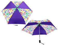 Paws Galore Automatic Compact Umbrella - Paw Prints Umbrella - Dog Love Cat Love