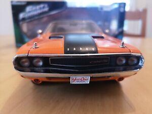 Greenlight Dodge Challenger Fast & Furious 1/18