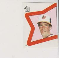 1983 Topps Stickers #175 Jim Palmer card, Baltimore Orioles HOF