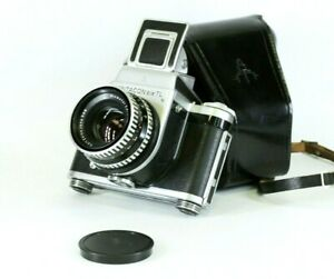Vintage Medium Camera 6x6 Pentacon SIX TL, Biometar 2.8/80mm, Shaft, Serviced