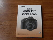 Canon EOS Rebel T3i Instrucciones Manual User Guide - 323 pages - SPANISH ONLY