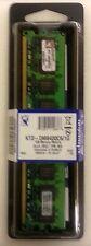 LOTTO ODL Qtà 12 Nuovo Kingston 1GB DDR2 di memoria KTD DM8400C6/1G KTD-DM8400C6/1G DIMM