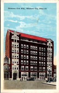 Postcard Oklahoma Club Building in Oklahoma City, Oklahoma~2942