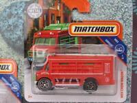 Matchbox 2019 # 087/100 MBX Chow Wagon Jaune Nourriture Camion Casea
