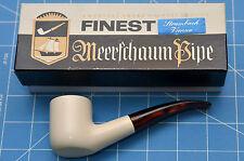 PARIS model HandMade premium MEERSCHAUM pipe by STRAMBACH of Austria (bauer) NEW