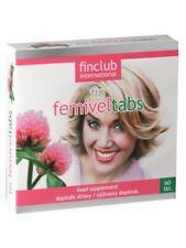 Fin Femiveltabs 60 tabl.- Finclub - izoflawony sojowe - przekwitanie, menopauza