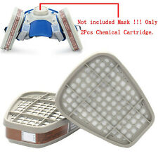 2Pcs 6001CN Organic Vapor filter Cartridge For 6000 7000 Gas Mask Respirator