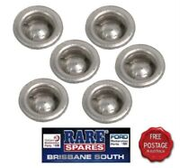 HOLDEN COMPLIANCE PLATE RIVETS X 6 RARE SPARES BRISBANE SOUTH GTS SS A9X SLR