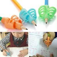 3Pcs Children Pencil Holder Pen Writing Aid Grip Posture Correction Tools Random