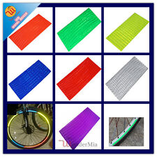 3-Pack Bike Bicycle Wheel Rim Reflective Safety Decal Tape Stickers (7 COLOR) CA
