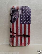 per Huawei Ascend Y600 Y600-U20 CUSTODIA COVER GEL SILICONE USA BANDIERA FLAG