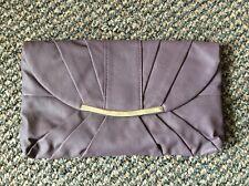 Brand New Dorothy Perkins Plum/Purple Clutch Bag/Purse BNWT