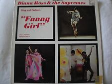DIANA ROSS & THE SUPREMES FUNNY GIRL VINYL LP ORIGINAL 1968 MOTOWN RECORDS EX