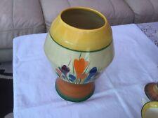 Bizarre by Clarice Cliff- Autumn Crocus Pattern- vase