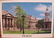 Irish Postcard TRINITY COLLEGE DUBLIN Campanile Liam Blake Real Ireland S19