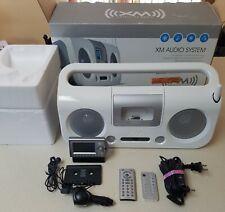 Xm Audio System Sirius Satellite Radio Boombox F5X007 w/ Audiovox Xm Receiver