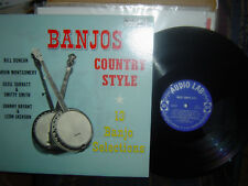 RARE-AUDIO LAB- BANJOS Country Style issued in 1959, no.1569-13 Banjo Songs-M-M-
