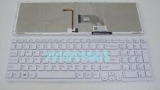 For Sony Vaio SVE171A11L SVE171C11L SVE171E11L SVE171G11L Keyboard Backlit White