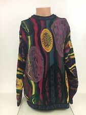 Authentic Vintage Coogi Multi Colored Sweater Size XL