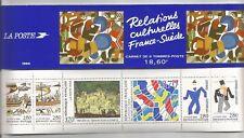france timbres 1994  2866 à 2871 carnet france suede
