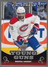 17/18 UD National Hockey Card Day 10th Anniversary Tribute Young Guns PK Subban