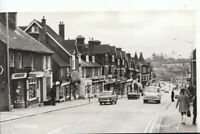 Sussex Postcard - Uckfield Street Scene - Real Photograph - Ref Y432