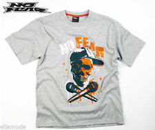 Camisetas de niño de 2 a 16 años de color principal gris 100% algodón