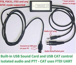 Xiegu USB CAT and PSK31, FT8, JT9, JT65 Digimode interface. WSJT-X, FLDigi etc