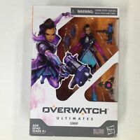 Overwatch Ultimates Series Sombra 6 Inch Action Toy Figure Hasbro Blizzard New