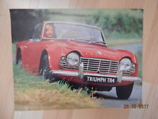 catalogue TRIUMPH TR4 cabriolet