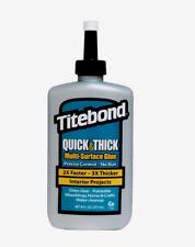 Titebond QUICK & THICK 8 oz. High Strength Liquid MULTI-SURFACE GLUE No Run 2403