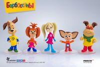 PROSTO TOYS Cartoon Barboskini Барбоскины Figures Free Worldwide Shipping
