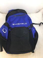 USED EvoShield Bat Pack Black Baseball & Softball Backpack (BR)