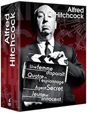 ALFRED HITCHCOCK: UNE FEMME DISPARAIT+QUATRE DE L'ESPIONNAGE+AGENT SECRET+ JEUNE