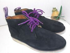 Stussy Deluxe x Dr. Martens Tyler Desert Boot tyler Black Suede purple mens 11 M