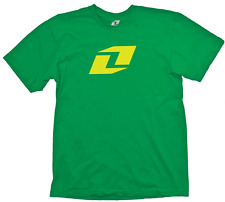 2017 ONE INDUSTRIES MEN'S T-SHIRT ICON TEE KELLY GREEN YELLOW adult motocross mx