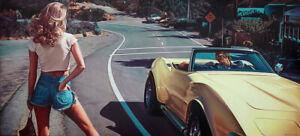 Steve ROSENDALE The Hitchhiker -Signed Pigment Print Pop Art Vintage Dirty Harry