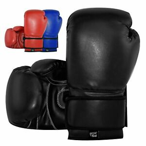 GL Boxing Gloves Genuine Leather - Boxing MMA Muay Thai Training and Competition