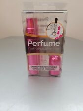 PRESSIT Refillable Travel Perfume Atomiser Spray Bottle PINK