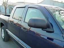 Tape-On Wind Deflectors for a 2003 - 2008 Dodge Ram 2500/3500