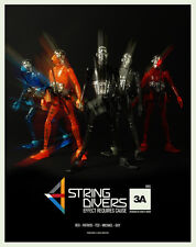 3A THREEA STRING DIVERS SET OF 5  SER 02 SDR2 MICROMAN ASHLEY WOOD NEW