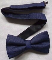 Bow Tie Mens Dickie Bowtie Adjustable MARKS & SPENCER M&S BLUE
